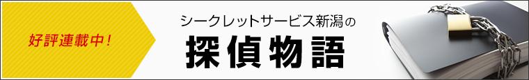 シークレットサービス新潟の探偵物語